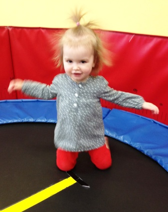 trampoline lady