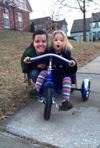 biking with mimi