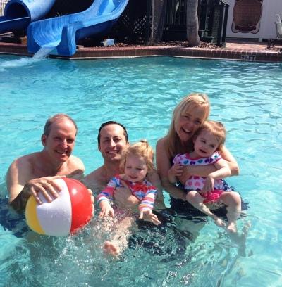 fun pool people