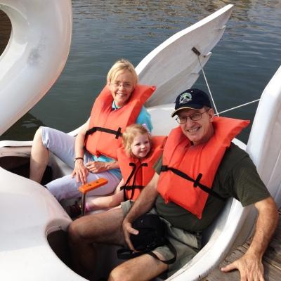 swan boat buddies
