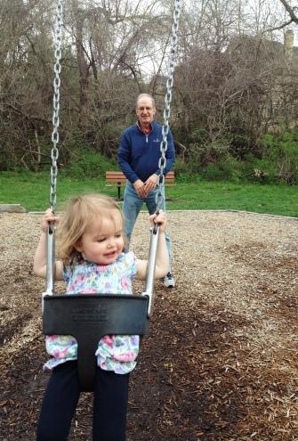 swingin' lady