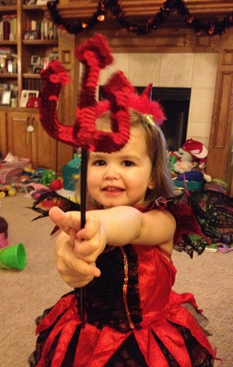 red princess and her wand