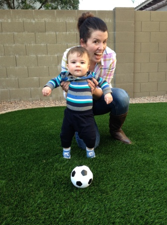 soccer with aunt susan
